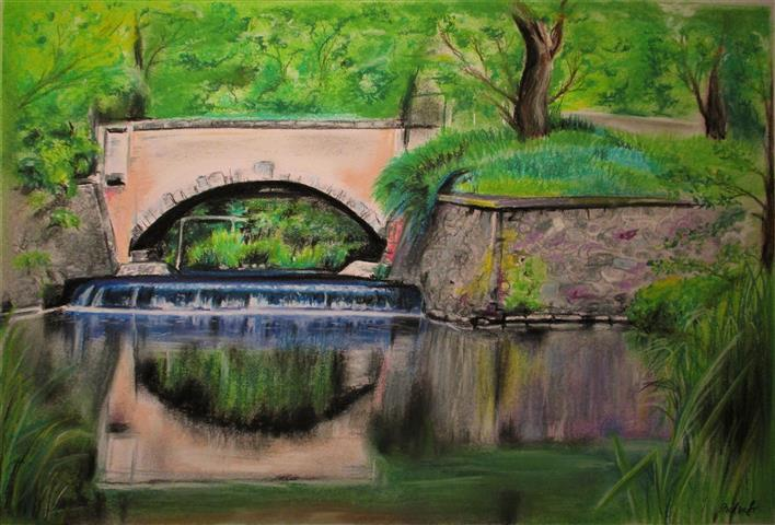 Malovaný most